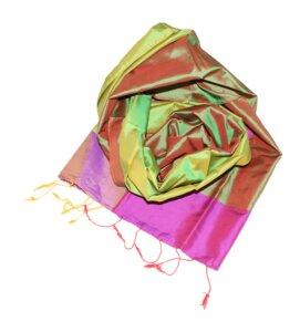 REBECCA Schal aus handgewebter Seide - Schönes aus Indochina