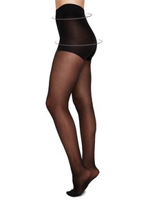 20den Black - Strumpfhose - Moa Control - Swedish Stockings