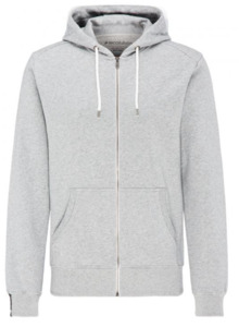 RECOLUTION Sweatjacke Basic Men grey melange  - recolution