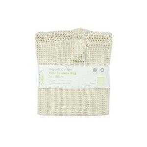 Lebensmittel Tasche aus Bio Baumwolle - groß - A Slice of Green