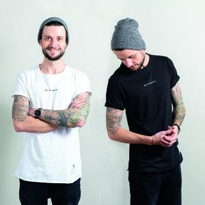 2er Pack: Be Humble Shirt POLAR & BLACKOUT - Who's Rob?