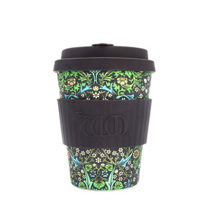 ecoffee Cup William Morris Blackthorn  340ml - ecoffee