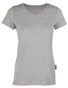 Damen Ladies Luxury V-Neck T-Shirt - HRM