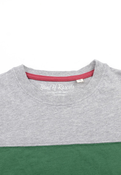 33f46cab5ae73e Block Striped T-Shirt - Cooles Jungen Kinder T-Shirt Kurzarm aus 100% Bio -Baumwolle