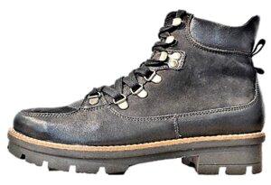 Schnür-Boots - schwarz - Werner Schuhe