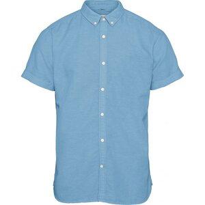Baumwoll/Leinen Hemd Short Sleeves - KnowledgeCotton Apparel