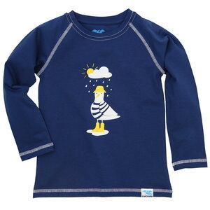 Bio Langarm-Shirt Möwe für Kinder und Baby - IceDrake