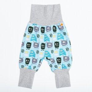 "Babypumphose ""Monsters"" aus 95% Baumwolle und 5% Elasthan - Cheeky Apple"