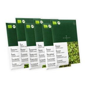 Microgreens Saatpads-Sets  - Heimgart