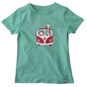 Bio T-Shirt Affe, Giraffe für Kinder und Baby - IceDrake