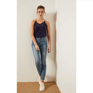 High-Waist Jeans - LANIUS