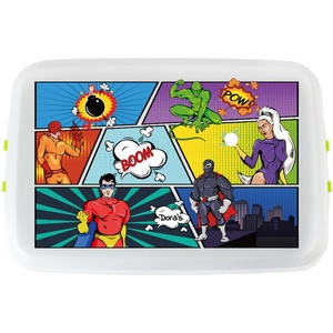 Lunchbox mit Druck Comic  - Biodora
