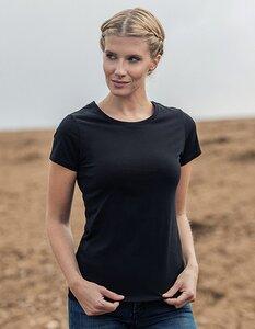 Damen Ladies Luxury Roundneck T-Shirt Runhals - HRM