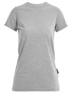 Damen Ladies Luxury Roundneck T-Shirt Runhals - HRM