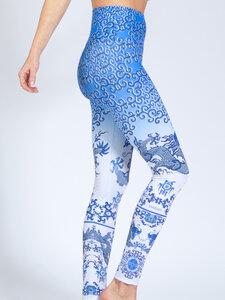 Yoga Leggings SILK ROAD aus Funktionsmaterial - Magadi