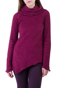 Pullover Garnet wine berry - Ajna