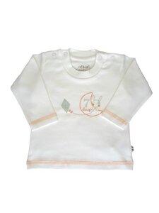 Baby Langarm Shirt weiss Bio Baumwolle EBi & EBi - EBi & EBi