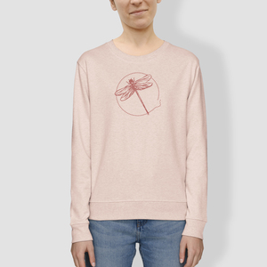 "Damen Sweater, ""Libelle"", Rosé - little kiwi"