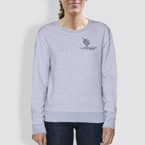 "Damen Sweater, ""Kleiner Kiwi"", Hellblau - little kiwi"