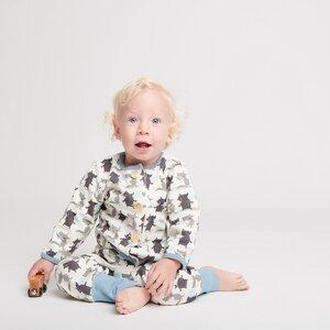 Gefüttertes Babyjäckchen 'Bubble Gum' aus Bio-Baumwolle - Cheeky Apple
