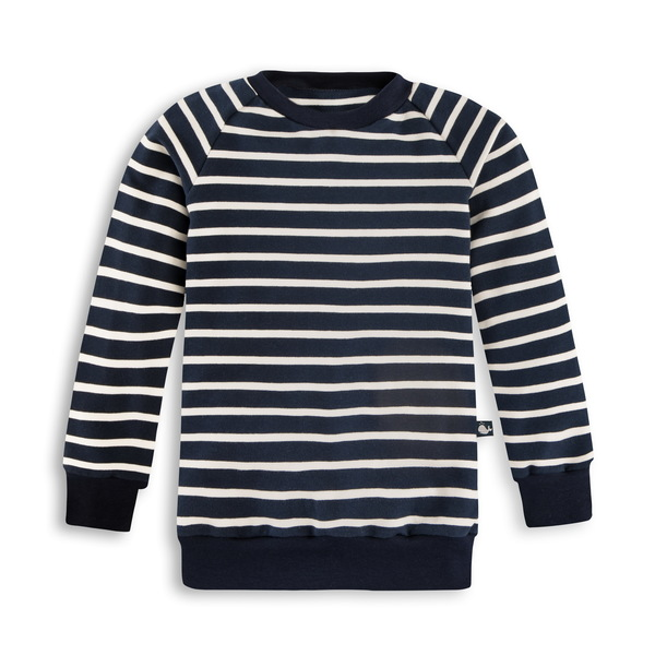 Gestreiftes Sweatshirt Für Kinder