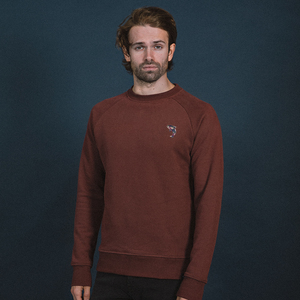 Bestickter Rundhals Sweater  - The Driftwood Tales