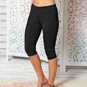 Leggings schwarz knie-kurz - The Spirit of OM