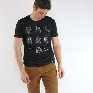 Shirt Mensch aus Modal®-Mix Schwarz - Gary Mash