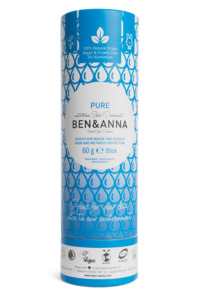 Soda Deodorant Push Up Carton Pure  - Ben&Anna