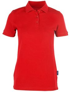 Damen Ladies Heavy Stretch Polo bis Größe 5XL Poloshirt Pique - HRM