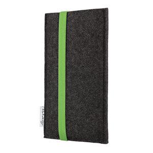 Handyhülle COIMBRA für Apple iPhone - VEGAN - Filz Schutz Tasche - flat.design
