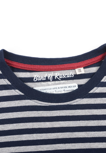 8ba4c1b9c1c4f1 Striped T-Shirt - Cooles Jungen Kinder T-Shirt Kurzarm aus 100% Bio -Baumwolle