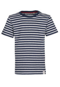 Striped T-Shirt  - Cooles Jungen Kinder T-Shirt Kurzarm aus 100% Bio-Baumwolle - Band of Rascals