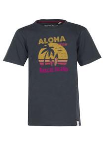 Aloha T-Shirt  - Cooles Jungen Kinder T-Shirt Kurzarm aus 100% Bio-Baumwolle - Band of Rascals