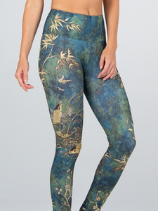 Yoga Leggings CAMO aus Funktionsmaterial - Magadi