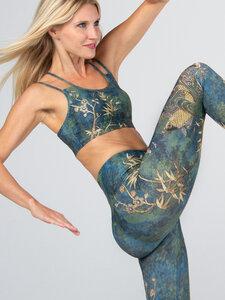 Yoga Leggings CAMO komfortables Stretchmaterial, eingearbeitete Tasche  - Magadi