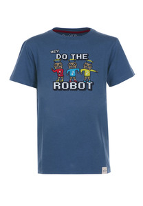 Do the Robot T-Shirt  - Cooles Jungen Kinder T-Shirt Kurzarm aus 100% Bio-Baumwolle - Band of Rascals