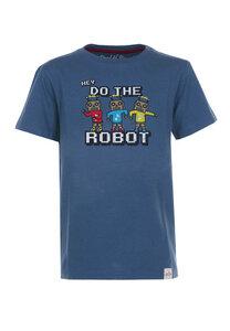 Do the Robot T-Shirt  - Cooles Jungen Kinder T-Shirt Kurzarm aus 100% Bio-Baumwolle - Band of Rascals
