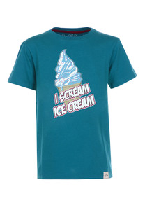 I scream T-Shirt  - Cooles Jungen Kinder T-Shirt Kurzarm aus 100% Bio-Baumwolle - Band of Rascals