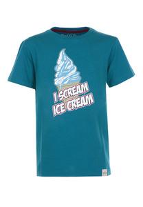 I scream T-Shirt  - Cooles Jungen Kinder T-Shirt Kurzarm aus 100% Bio-Baumwolle - Band of Rascals