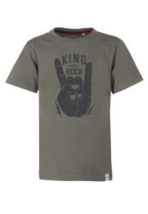 King of Rock T-Shirt  - Cooles Jungen Kinder T-Shirt Kurzarm aus 100% Bio-Baumwolle - Band of Rascals