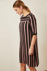 Kleid aus Tencel Print Stripes - LANIUS