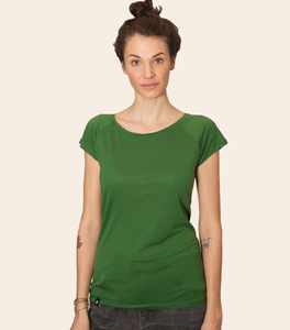 päfjes - Basic Tencel Frauen Fair T-Shirt V2 - päfjes