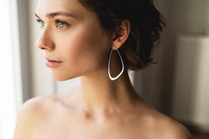 Ebb Tide Earrings Ohrringe           - Julia Otilia Conscious Jewellery