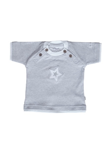 Jungen T-Shirt grau Bio Baumwolle EBi & EBi - EBi & EBi