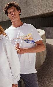 T-Shirt mit Motiv / FADED - Kultgut