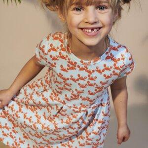 Lily Balou Mädchen Kleid Hanna crabs - Lily Balou