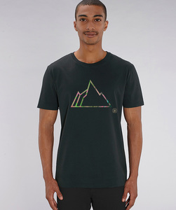 T-Shirt mit Motiv / FADED MOUNTAIN - Kultgut