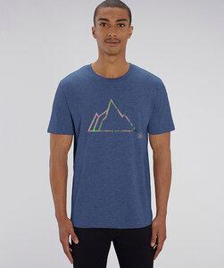 T-Shirt mit Motiv / FADED MOUNTAIN - Kultgut