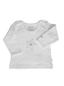 Baby Langarm Shirt weiß Bio Baumwolle EBi & EBi - EBi & EBi